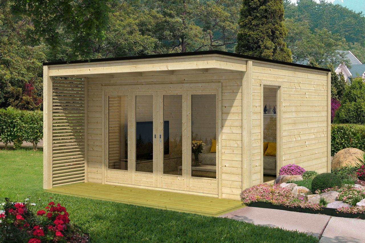 Design Gartenhaus CubusVio40 Saunas and Haus