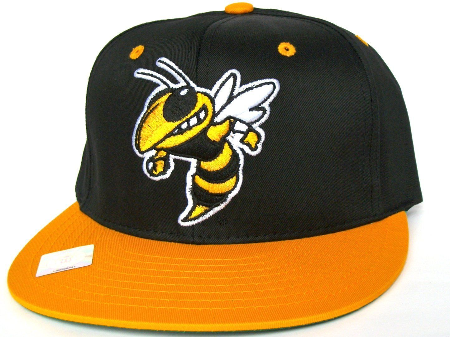 0dadca10b65 GEORGIA TECH YELLOW JACKETS Retro Old School Snapback Hat - NCAA Cap - Black  Gold  Amazon.co.uk  Amazon.co.uk