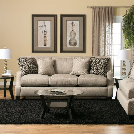 The Roxana Living Room Collection Offers Modern Style And