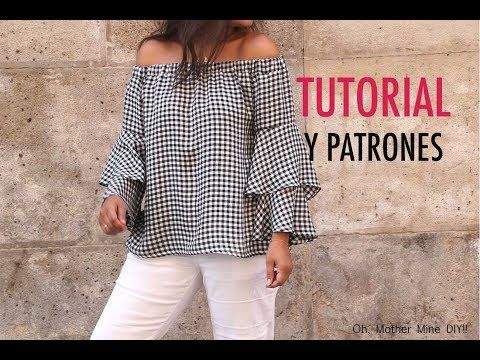 DIY ropa, como hacer tu misma esta blusa o camiseta para