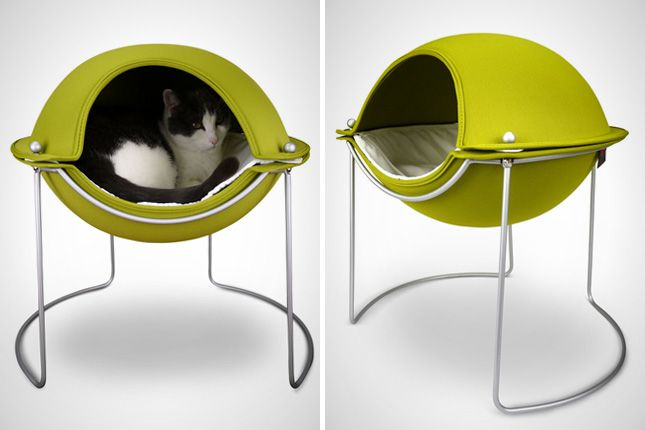 12 Modern Homes for Cool Cats via Brit + Co.