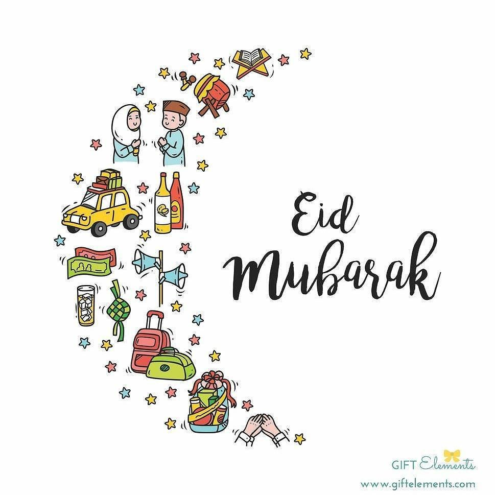 eid mubarak to all my muslim brothers and sisters