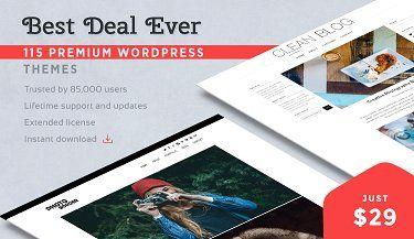115 Dessign.net Premium WordPress Themes for $29
