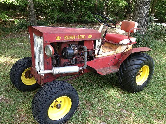 Bush Hog Garden Tractors Garden Tractor Tractors Classic Tractor