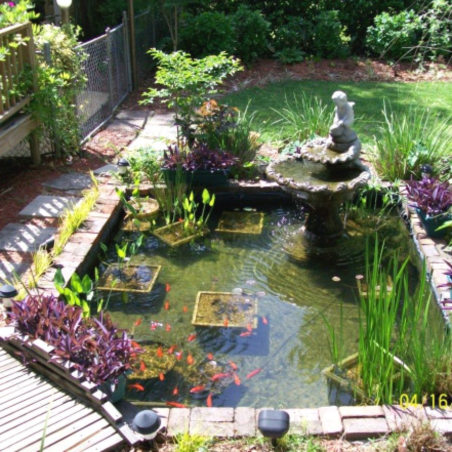 Creative Diy Koi Pond Ideas You Can Build Yourself To Complement Your Landscape Koi Ponds Designs No 1717 K Koi Pond Backyard Ponds Backyard Pond Design