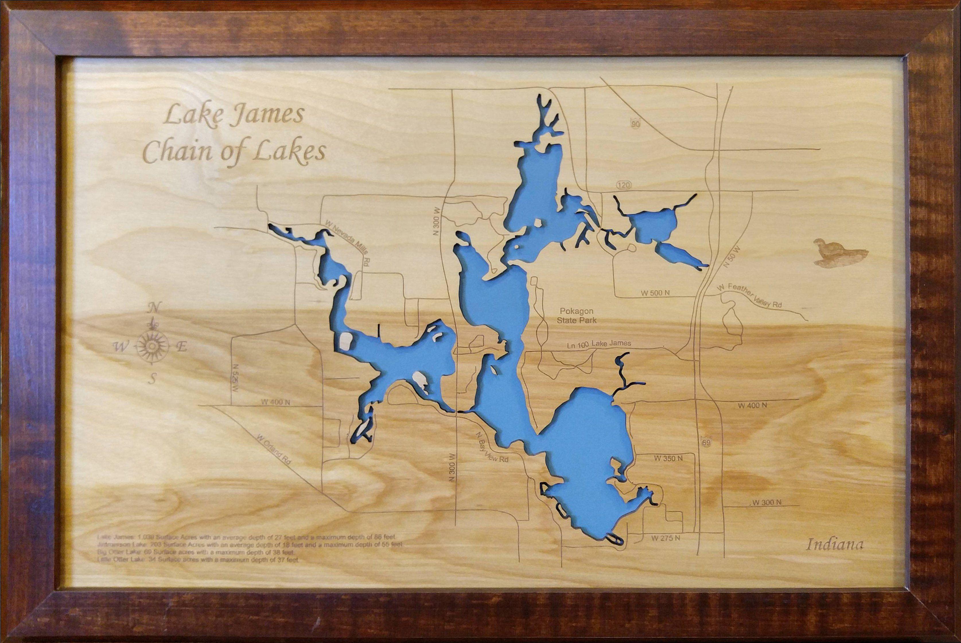 lake james indiana map Pin On Lake James Chain Of Lakes Indiana lake james indiana map
