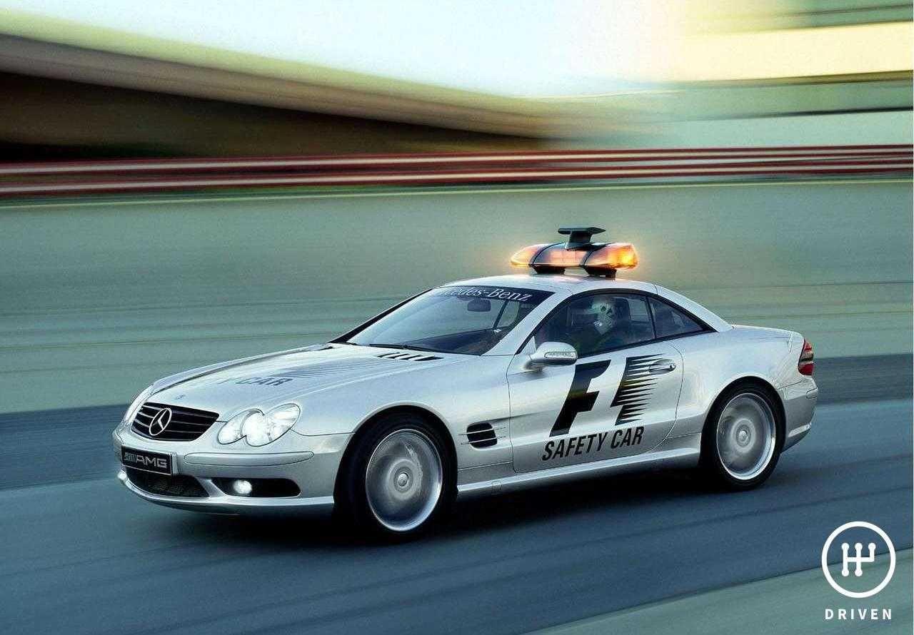 MercedesBenz 2003 SL55 AMG F1 Safety Car Technical