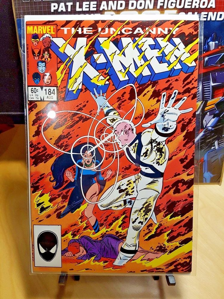 Uncanny X Men 184 1st Appearance Of Forge Amazing Condition Marvel Comics Marvel Comics Covers Marvel Comic Books Vintage Comics