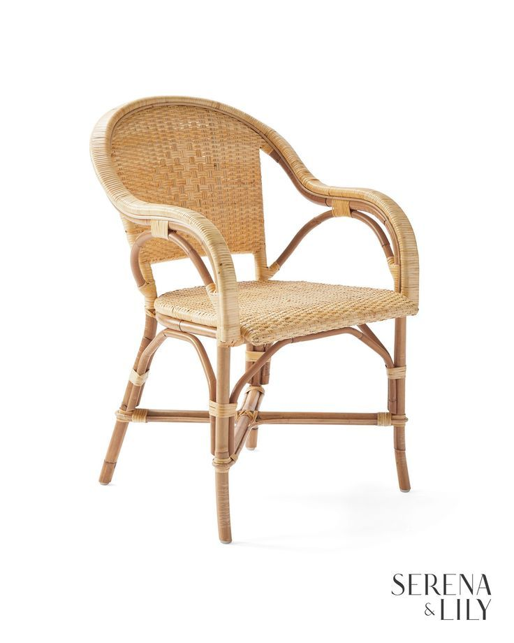 Sunwashed Riviera Armchair Parisian Bistro Chairs Chair