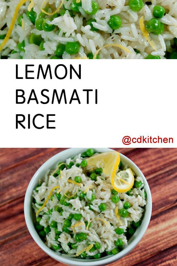 Ready in about 20 minutes and full of flavor. This basmati rice makes a great side dish with fish, chicken, pork, etc. | CDKitchen.com