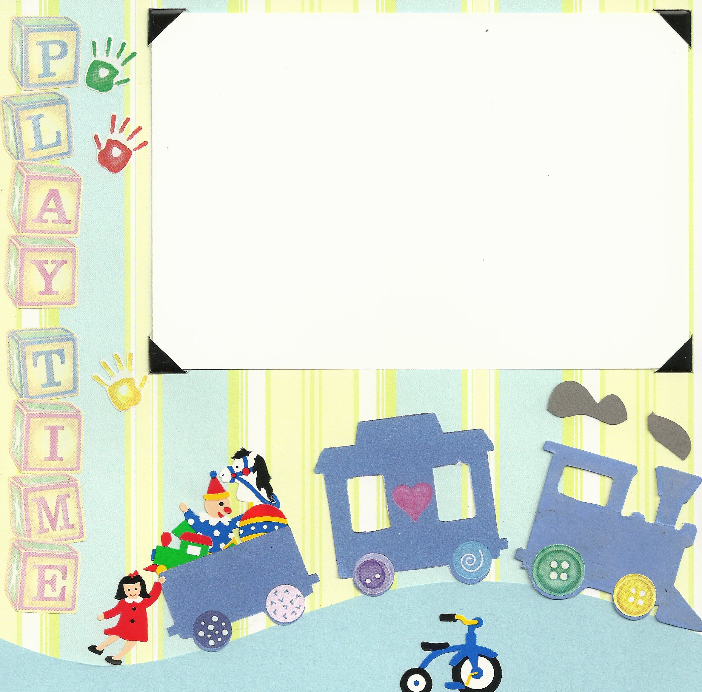 Baby scrapbook page ideas - Baby Scrapbook Page Ideas 8x8 Pages Play Time Baby Boy