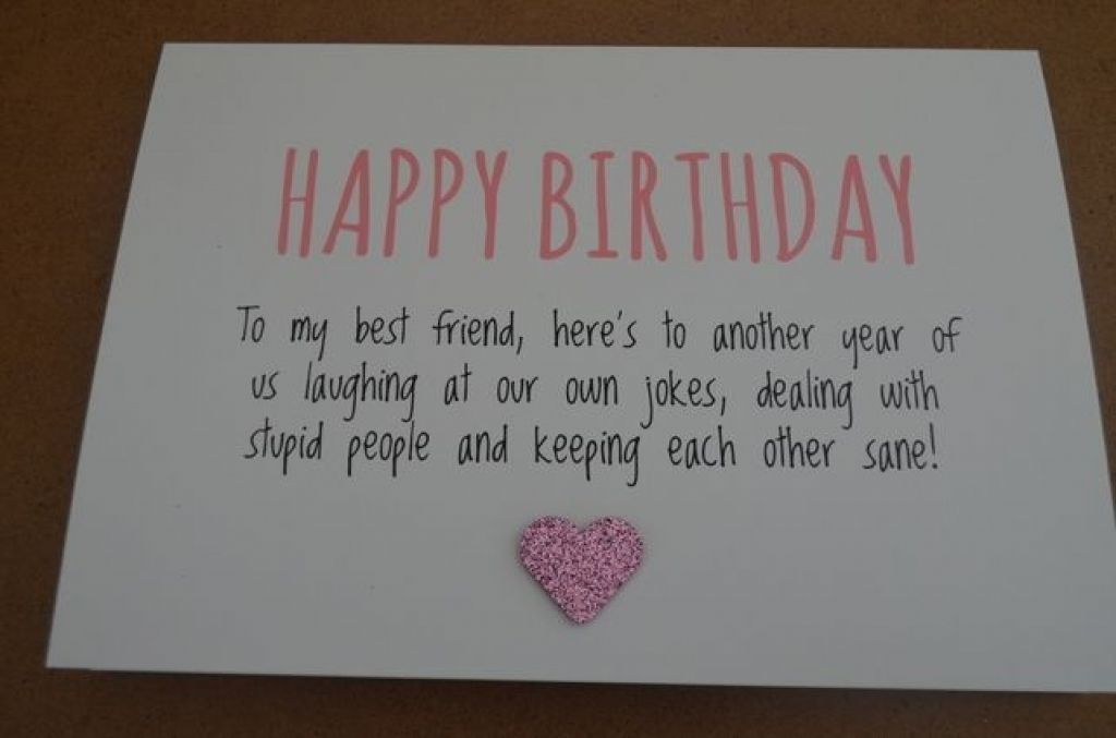 What To Write On Birthday Card For A Good Friend Cardss