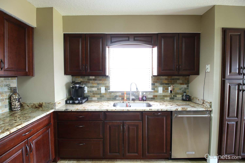 jupiter cherry java coffee glaze kitchen kitchen cabinets home decor on kitchen cabinets java id=44234