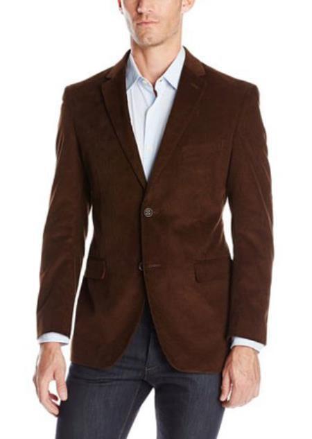 Mens Notch Lapel Cotton Corduroy Sport Coat Taupe https://goo.gl/dthaVD