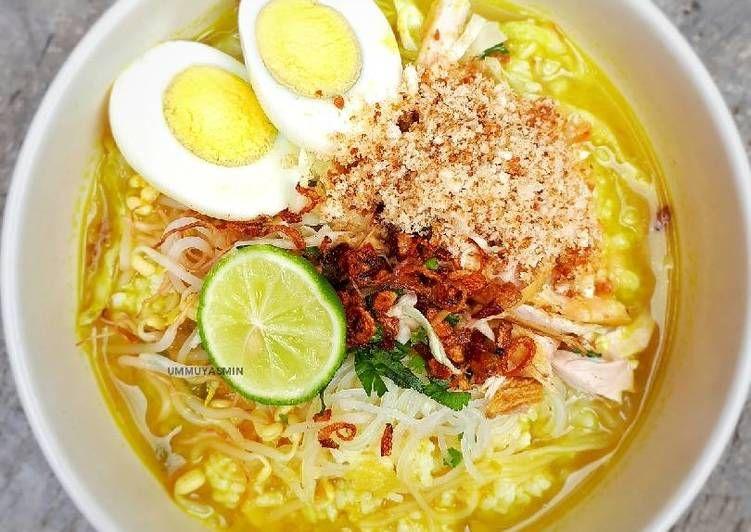 Resep Soto Lamongan Koya Oleh Yasmin Kitchen Resep Resep Masakan Resep Makanan Asia Sup Daging