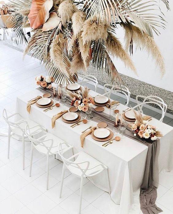 Les plus belles décorations de table pour un mariage – Rhinov