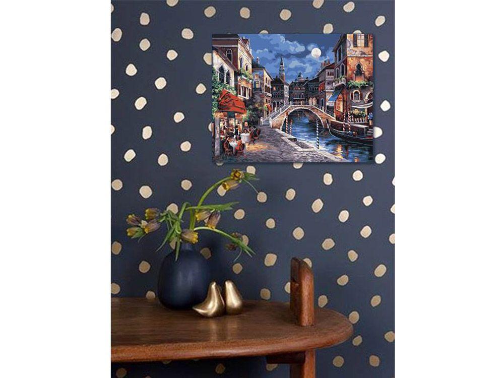 Картина по номерам «Ночная Венеция» (с изображениями ...