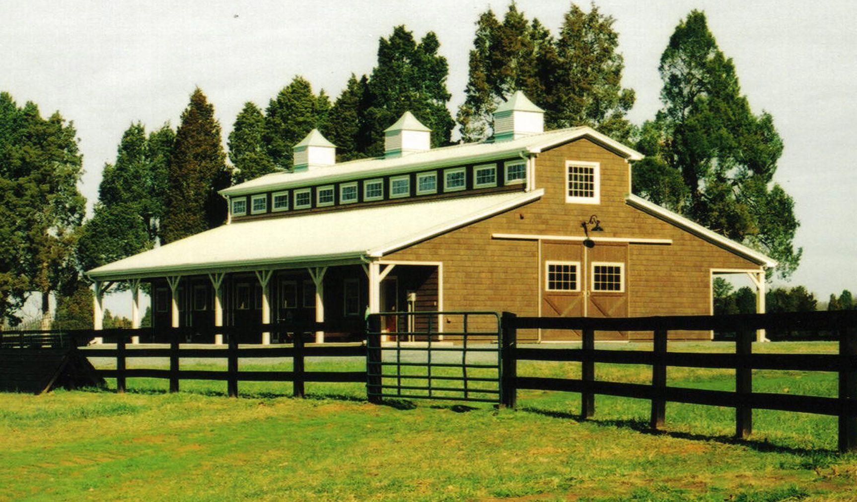 Barn Designs 52 39 X 72 39 Horse Barn Barns Pinterest