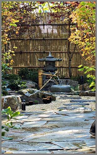 Japanese Zen garden are the perfect balance in energy FENG SHUI