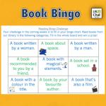 Book Bingo by @eenalol