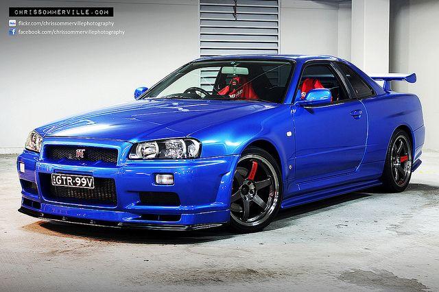 Nissan Skyline R34 GTR VSpec GTR 99V  Skyline gtr r34 Gtr