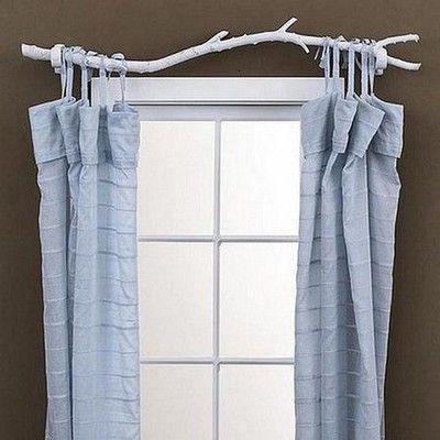 Diy Curtain Rod Diy Curtain Rods Homemade Curtains Tree Branch