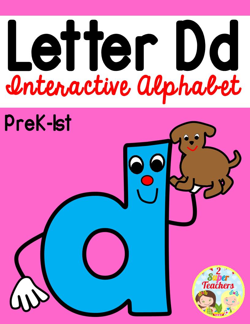 Interactive Alphabet {Letter d} | Phonics | Pinterest | Alphabet ...