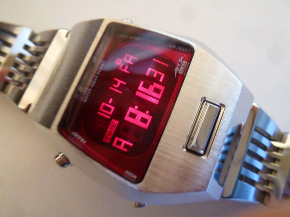 Montres Homme,LED Créatif Électronique Montre Bricolage