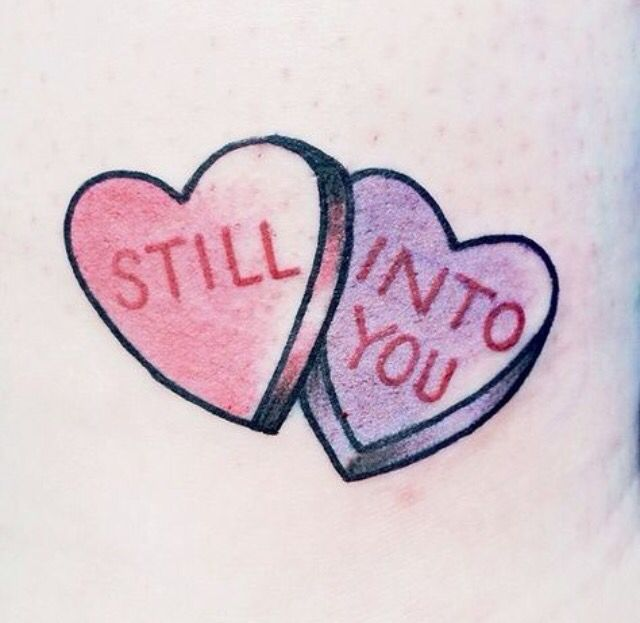 Candy hearts | Tatts x | Pinterest