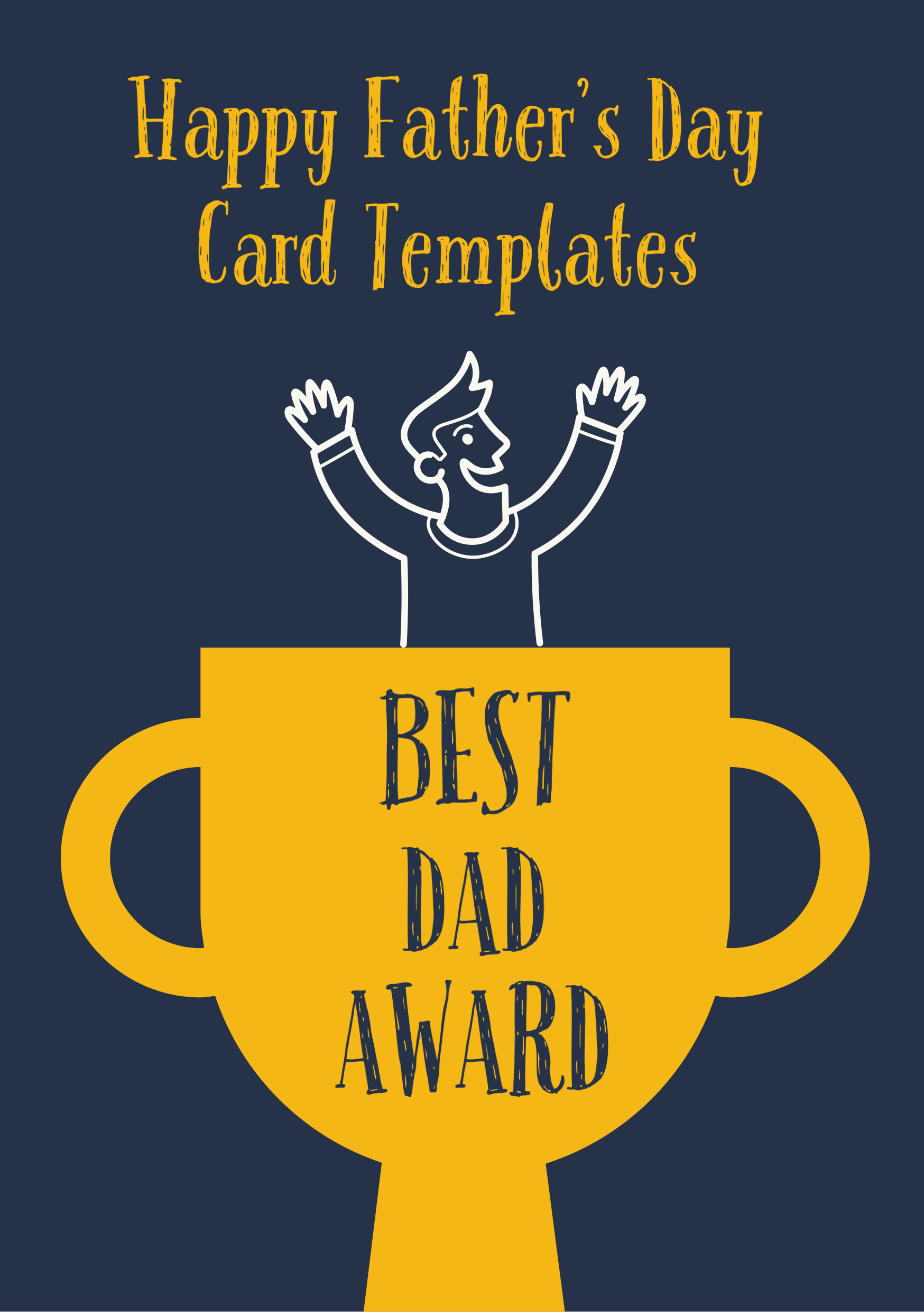 Father S Day Card Ideas Father S Day Card Template Custom Cards Invitation Card Design