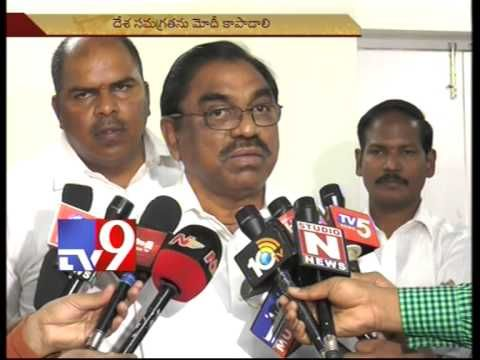 Telangana and AP Cong leaders pay tribute to Patel, Indira