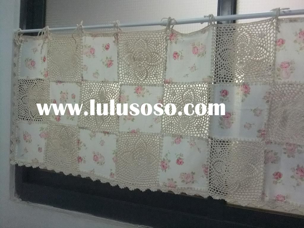 Crochet Cafe Curtains Free Pattern Free Image .