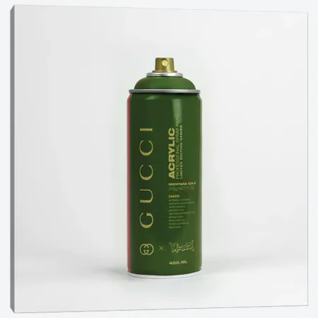 Brandalism Gucci Spray Paint Can Canvas Print By Antonio Brasko Icanvas In 2021 Spray Paint Cans Spray Can Paint Cans