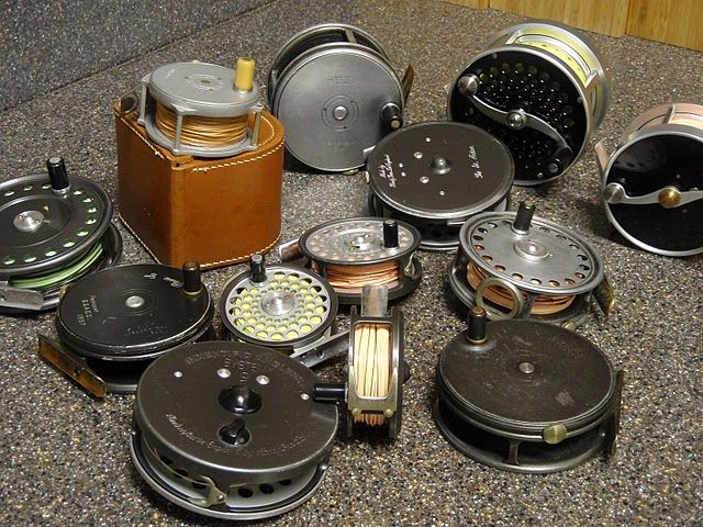 Lots of Hardy's in this lot…Princess, Bougle, Perfect. The salmon reel are gorgeous. Peerless?