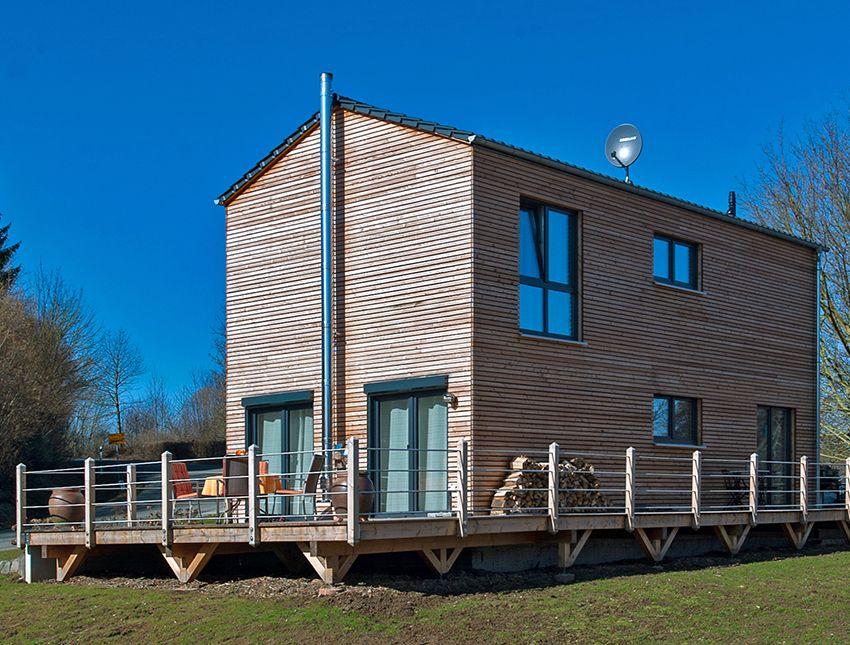 Fertigteilhaus Holz