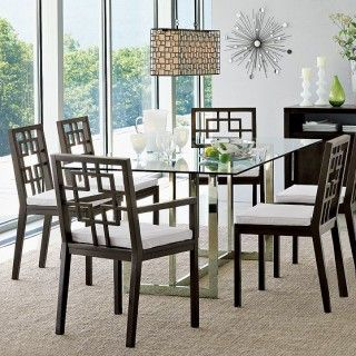 Modern Dining Table How I Could Spruce Up My Old Set Glass Top