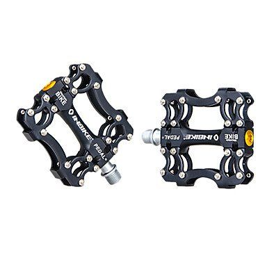 Inbike Aluminum Alloy Black 3 Bearing Bike Bicycle Pedals Click Image For More Details Bicycle Pedals Bicycle Bike Bicycle