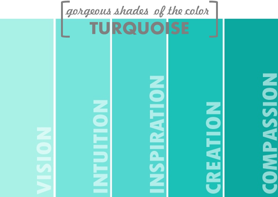 Color Trend: Turquoise Bring in the calm & oomph to your home with turquoise color inspired décor accents. #color #trend #turquoise #shades #decor