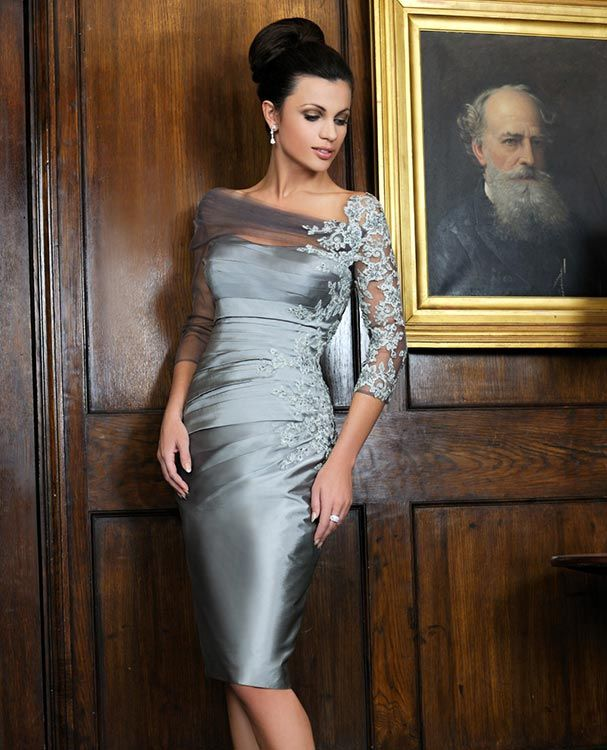 Silver Wedding Dresses For Older Brides: I Love The Elegance, Color And