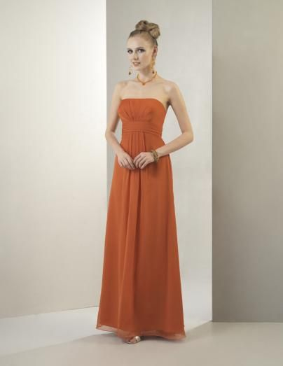 burnt orange bridesmaid dresses | Bridesmaid Dress BM1344 from the ...