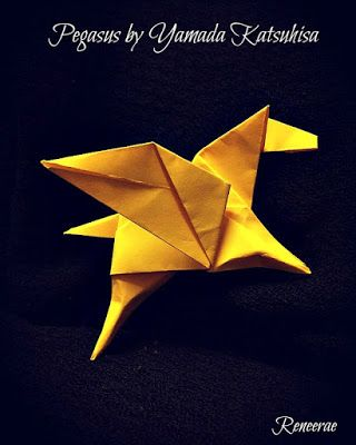 Life's Simple Pleasure: Origami Creations - Simple Flying Mythical Horse