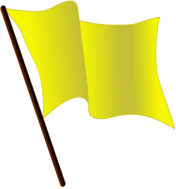Yellow Red Flags Of Mulligan Concept Red And Yellow Flag Concept Bubblegum Pink