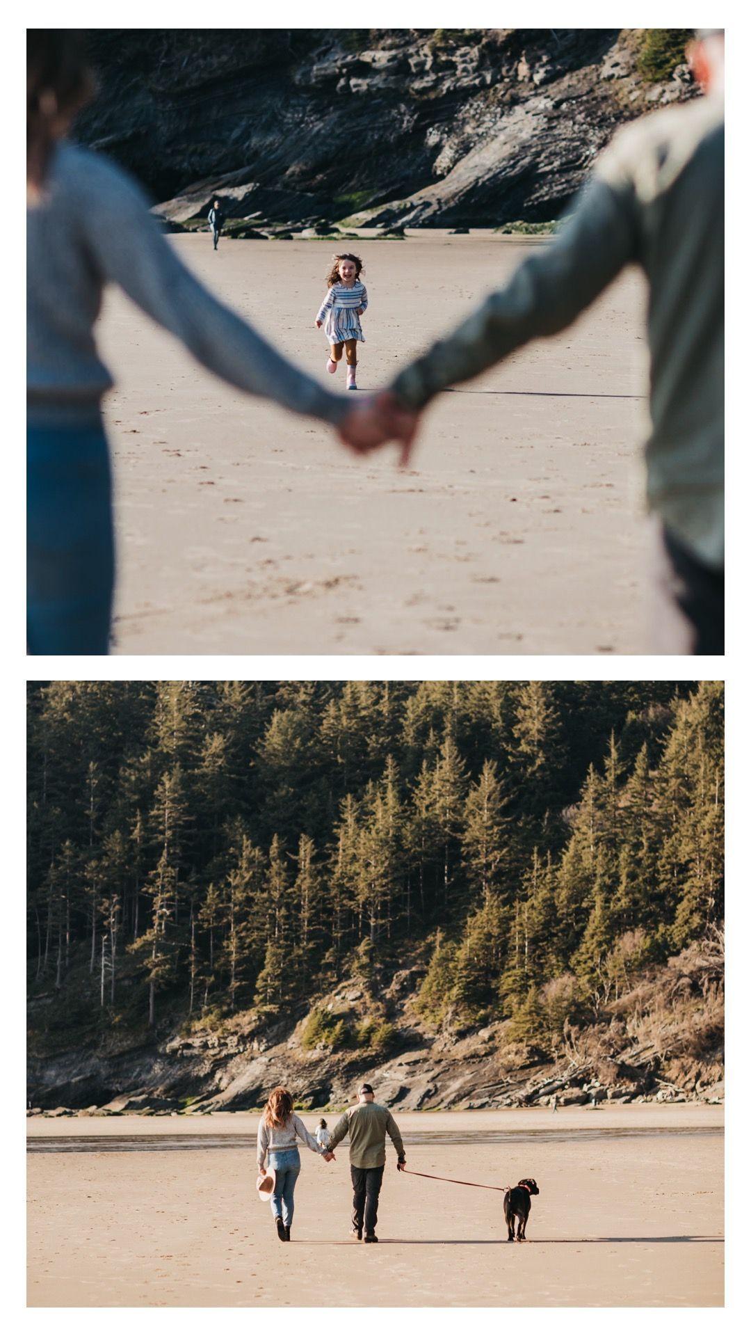 Adventure Family Photos on the Oregon Coast | Lindsay Newton Photography | Manzanita, Oregon