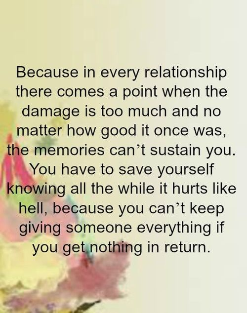 Quotes about giving too much in a relationship