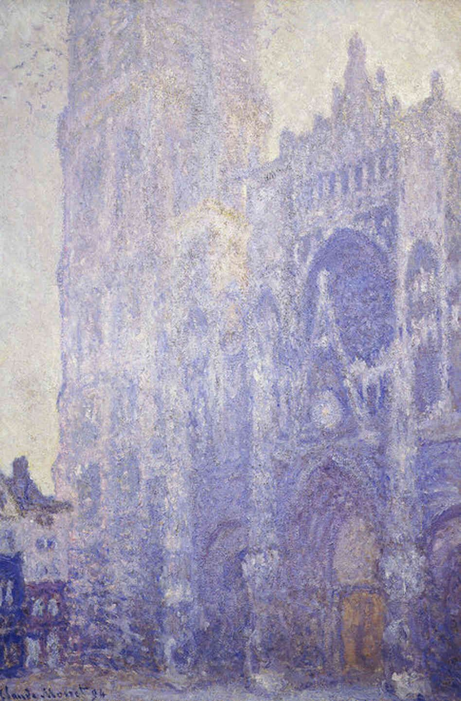a paper on the life and works of claude monet Realists try to recreate life as they see it, and rebel  i like claude monet's work because he paints the same subject several  art history term paper.