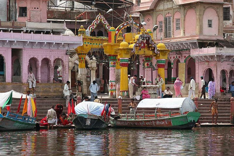 Mathura, India #seatsofthegoddess