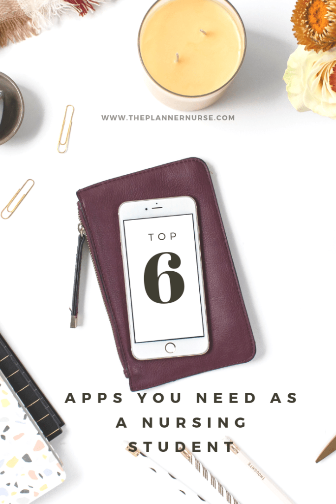 I'm sharing with you guys the top 6 apps I used throughout