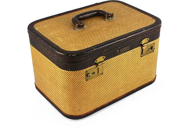 1940s Luggage Train Case
