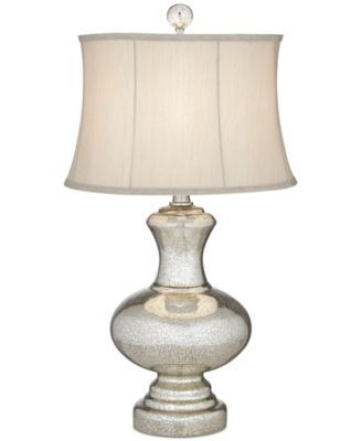 Kathy Ireland Pacific Coast Mercury Glass Whimsical Table Lamp Reviews All Lighting Home Decor Macy S Table Lamp Table Lamp Lighting Lamp