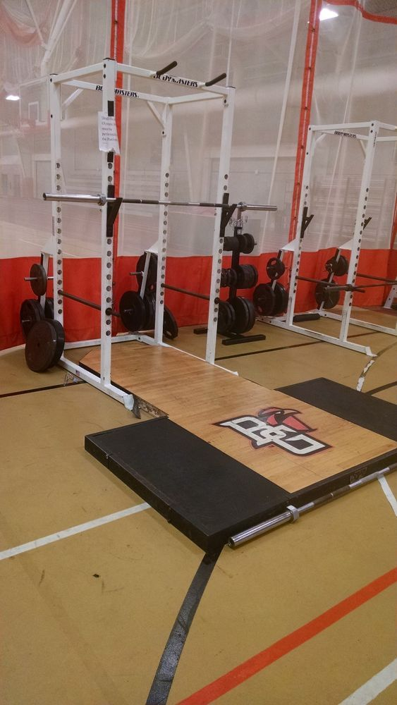 Bodymasters Power Rack W Hardwood Platform Power Rack Home Gym Hardwood